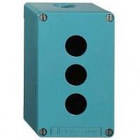 Корпус кнопочного поста на 3 элемента 80х175 металлический