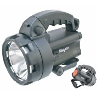 Фонарь-прожектор 1LED CREE 4LED акумм.4В 4.0Ач дальность 300м