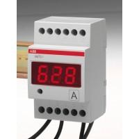 Амперметр цифровой модульный прямого включения для измерения переменного тока серия AMTD-1