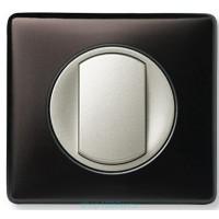 Клавиша для выключателя/переключателя 1 клавишного с индикацией графит Celiane