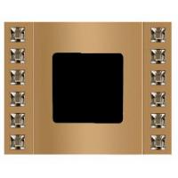 Рамка 1 пост velvet золото Swarovski
