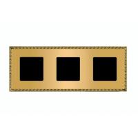 Рамка 3 поста oro rojo Toledo