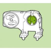 Патрон G13 для ламп Т8 вставной со стартеродержателем , поворотный (крепление на нижние цапфы)