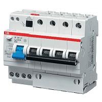 Автомат. выкл. дифф. тока 4-пол. 32А 30мA тип AC 6кА  хар-ка С серия DS200 АС С
