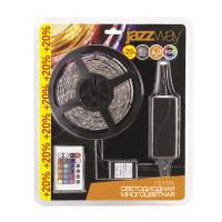 Светодиодная гибкая лента SMD5050 DC12V, Блистер 4,0м, Мультицвет RGB IP65