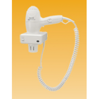 Фен для волос с настен.держателем 1,6 кВт 220 В 3 реж.(0/0,8/1,6 кВт) кнопка