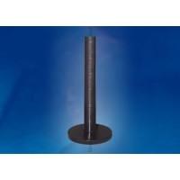 Опора напольная с крышкой H=600 мм сталь черный