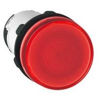 Лампа сигнальная красная 230В AC лампа накаливания 130В, 2,6Вт