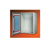 Корпус шкафа SR дверь со стеклом 500х400х250мм, IP65