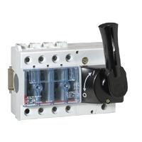 Выключатель-разъединитель 3-пол. 63А фронтальное управление, черная ручка, Vistop