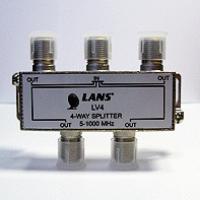 Делитель на 4 направления (5-1000 МГц)