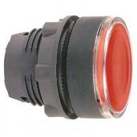 Головка красной кнопки с подсветкой 22 мм с ПРУЖИННЫМ возвратом