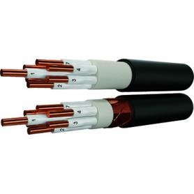 Кабель контрольный 19х2.5 кв.мм медный 0,66 кВ с ПВХ изоляцией негорючий с низким дымо- и газовыделением