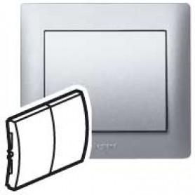 Клавиша для выключателя/переключателя 2 клавишного алюминий Galea Life
