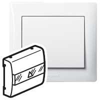 Накладка  для карточного выключателя белый Galea Life
