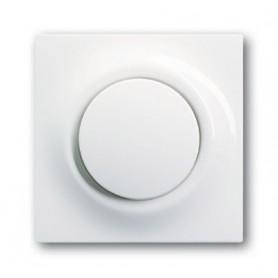 Клавиша для выключателя/переключателя 1 клавишного с лампой подсветки альпийский белый Impuls