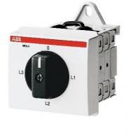 Переключатель для амперметра поворотный кулачковый на DIN-рейку  MCA 4