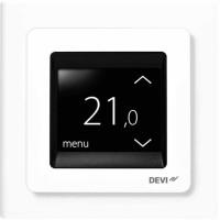 Терморегулятор встраиваемый сенсорный DEVIreg Touch,белый