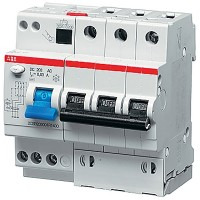 Автомат. выкл. дифф. тока 3-пол. 40А 30мА тип A 10 кА хар-ка В серия DS200 А В