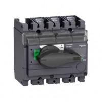 Выключатель-разъединитель 3-пол. 100А с черной ручкой INTERPACT INV100