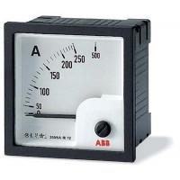 Амперметр аналоговый панельный прямого включения для измерения переменного тока со шкалой до    5А 72х72 мм серия AMT1-A1-5/72
