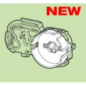 Патрон G13 для ламп Т8 торцевой накидной прозрачный со стартеродержателем