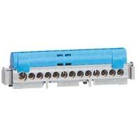Шина для нейтрали синяя 8х16 кв мм (дин)