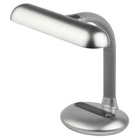 Светильник настольный для КЛЛ 11Вт G23  IP20 серебро