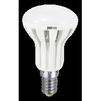 Лампа светодиодная 6 Вт 230В Е27 рефлектор, термопластик, тёплый белый