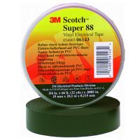 Лента изоляционная высшего класса Scotch Super 88 19мм х 20м х 0,22мм (для монтажа при низких температурах до -40)
