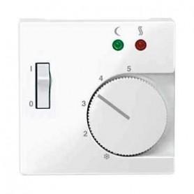 Накладка для терморегулятора полярно белый System M
