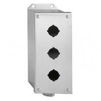 Корпус кнопочного поста на 1 элемент алюминевый для 9001K/SK