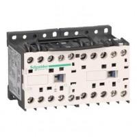 Контактор реверсивный K 3P, 6А, НЗ, 42V 50/60Гц, мех. блокир. зажим под винт
