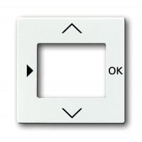 Накладка для терморегулятора с таймером davos/альпийский белый solo/future