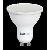 Лампа светодиодная 5,5 Вт 230В GU10 d=51mm, пластик, тёплый белый