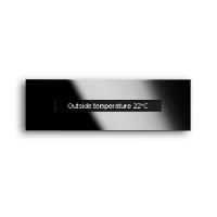 4-х канальный датчик движения черное стекло (6345-825-101-500)