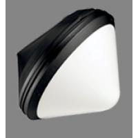 Светильник  настенный для КЛЛ 60 Вт E27 IP55  серебро 3008046000