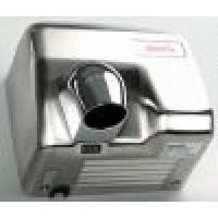 Сушилка для рук 2,4 кВт 220 В поток воздуха 70 л/с корпус метал цвет сталь ИК-датчик (для помещ.с высок.проходим.) IP23