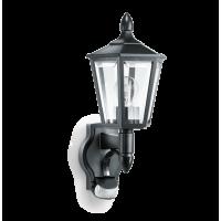Светильник уличный с ИК датчиком настенный черный 100Вт Е27 180
