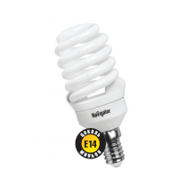 Лампа энергосберегающая 20 Вт Е14 6500К тонкая спираль дневной  94 299