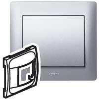 Накладка  для  датчика движения 775655 алюминий Galea Life