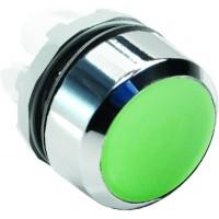 Кнопка зеленая без подсветки без фиксации ( только корпус ) тип MP1-20G