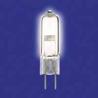 Лампа галогенная капсюльная 250 Вт 24В G6,35 проекционная EHJ A1/223