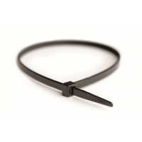 Хомут кабельный полиамид 3,6х200 мм стандартный 6.6 (-40С+85С) черный  (упак.100шт.)