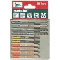 Пилки для Лобзиков Metabo по дереву, пластику,металлу 10 шт.