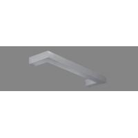 Светильник встр. для  Л.Л. 1х28Вт G5 IP20  отражённого света