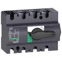 Выключатель-разъединитель 3-пол. 100А с черной ручкой INTERPACT INS100