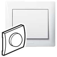 Накладка  для поворотного светорегулятора белый Galea Life