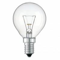 Лампа накал. шар 40 Вт, E14, прозрачный