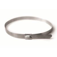 Хомут кабельный метал. 8,0х150 мм из нержавеющей стали (AISI-316)